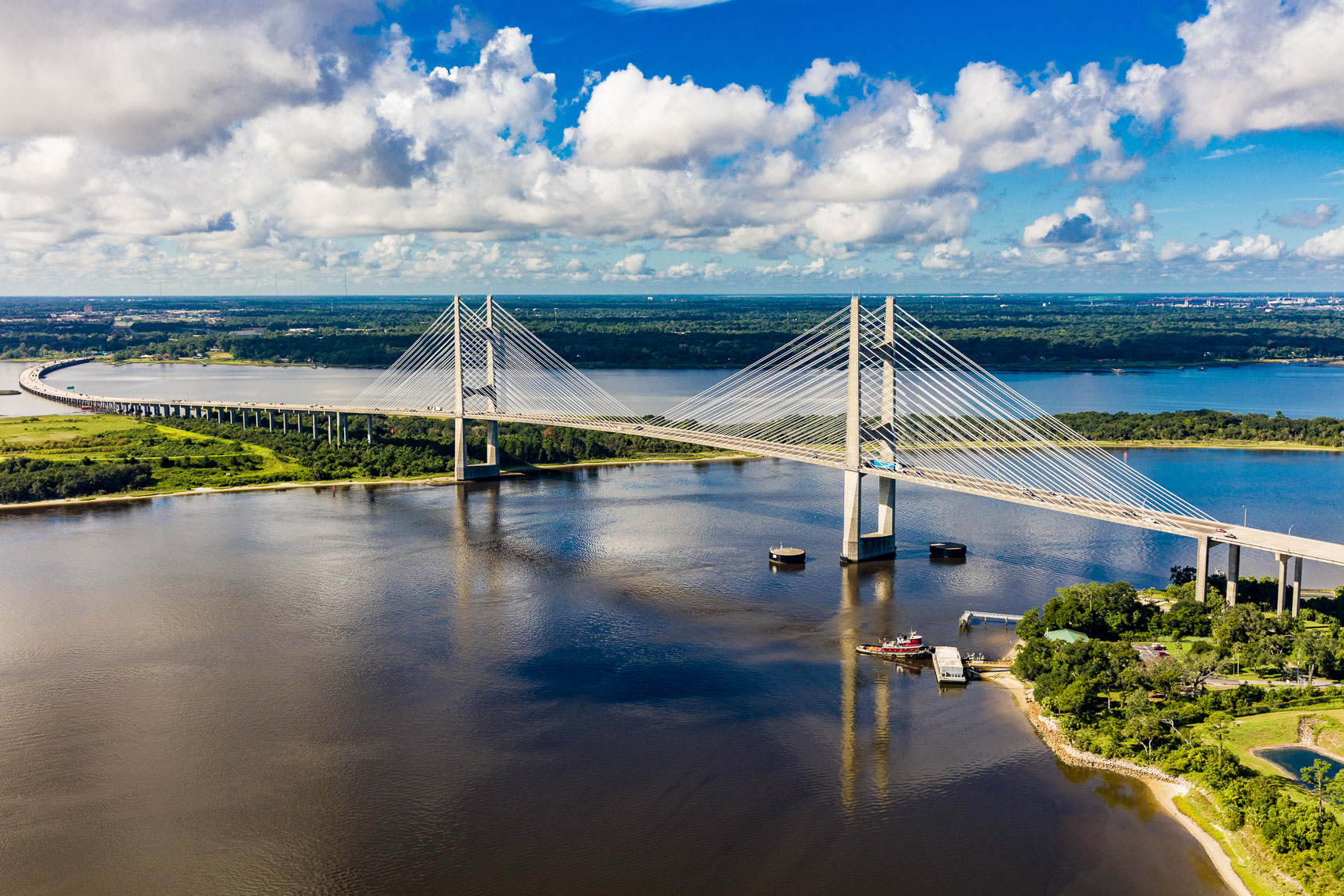 The Dames Point Bridge