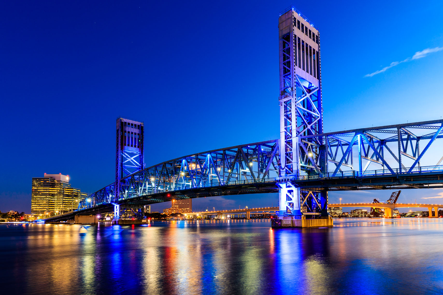 The Main Street Bridge in Jacksonville Florida