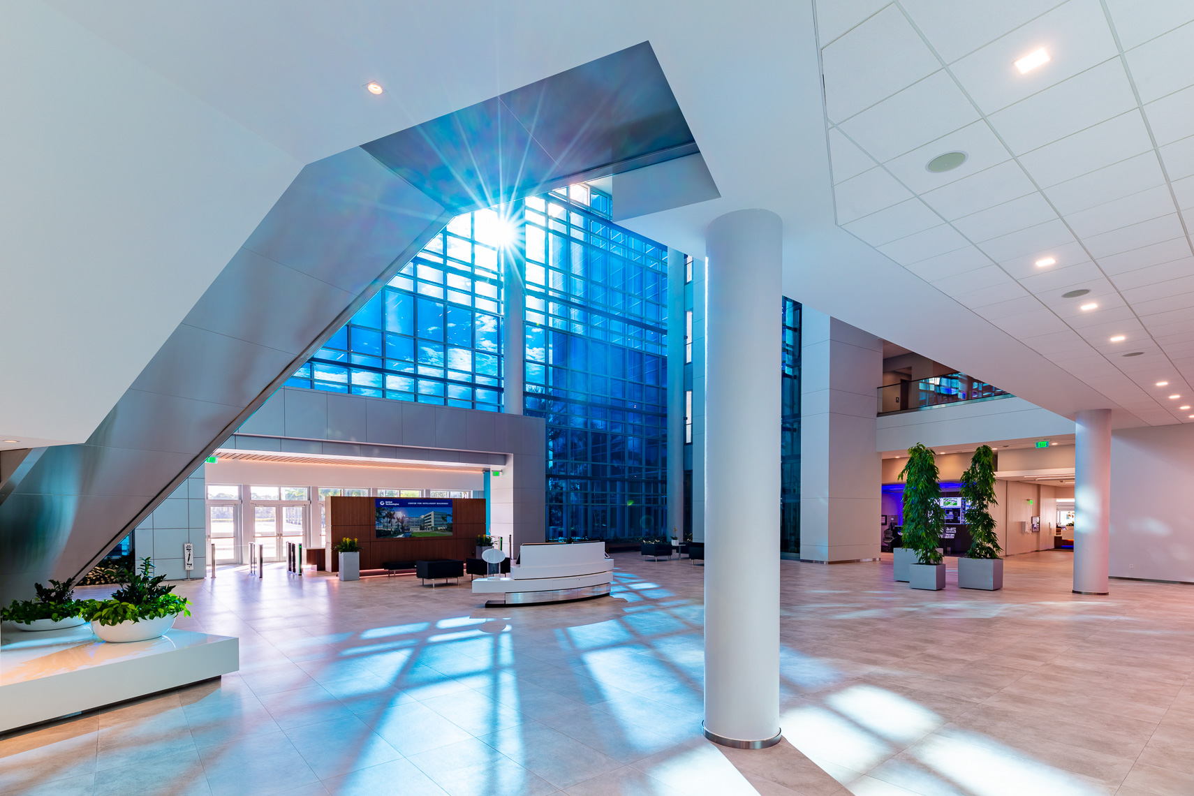 Corporate Headquarters Lobby Interior