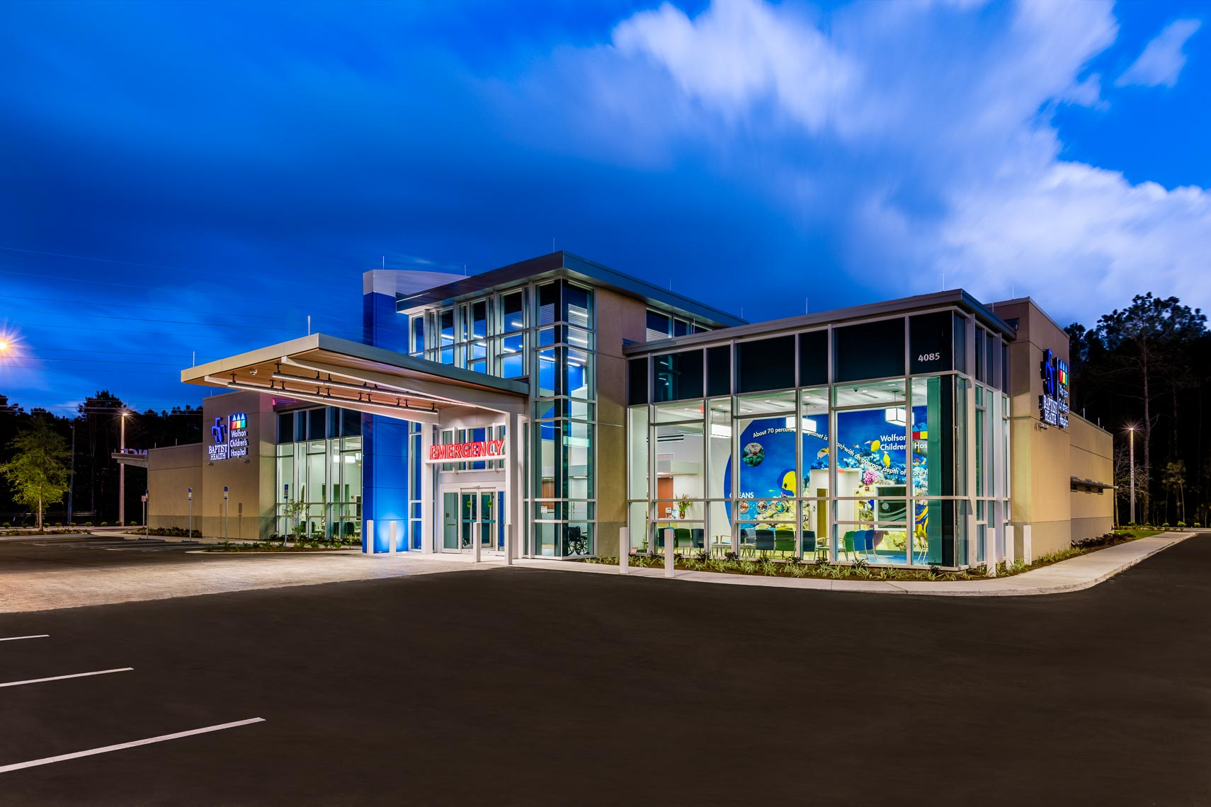 Hospital Architectural Exterior Photography