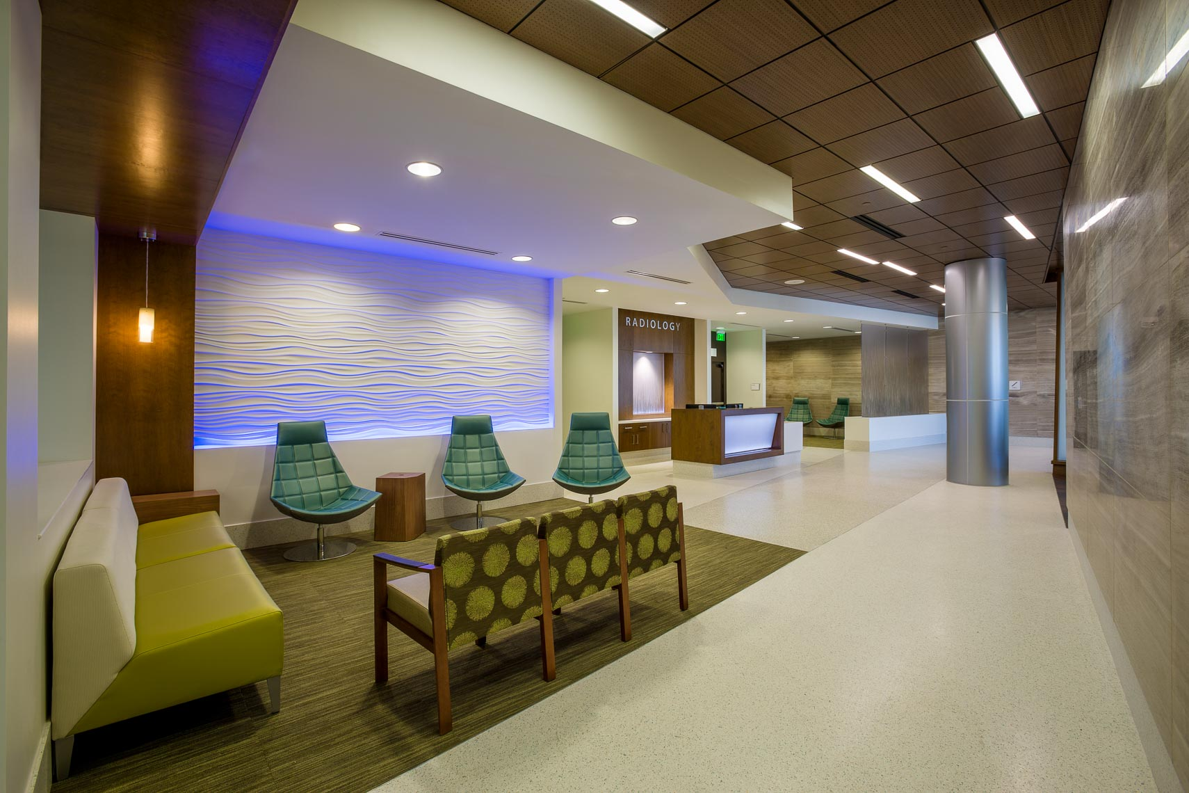 Hospital Architectural Interior