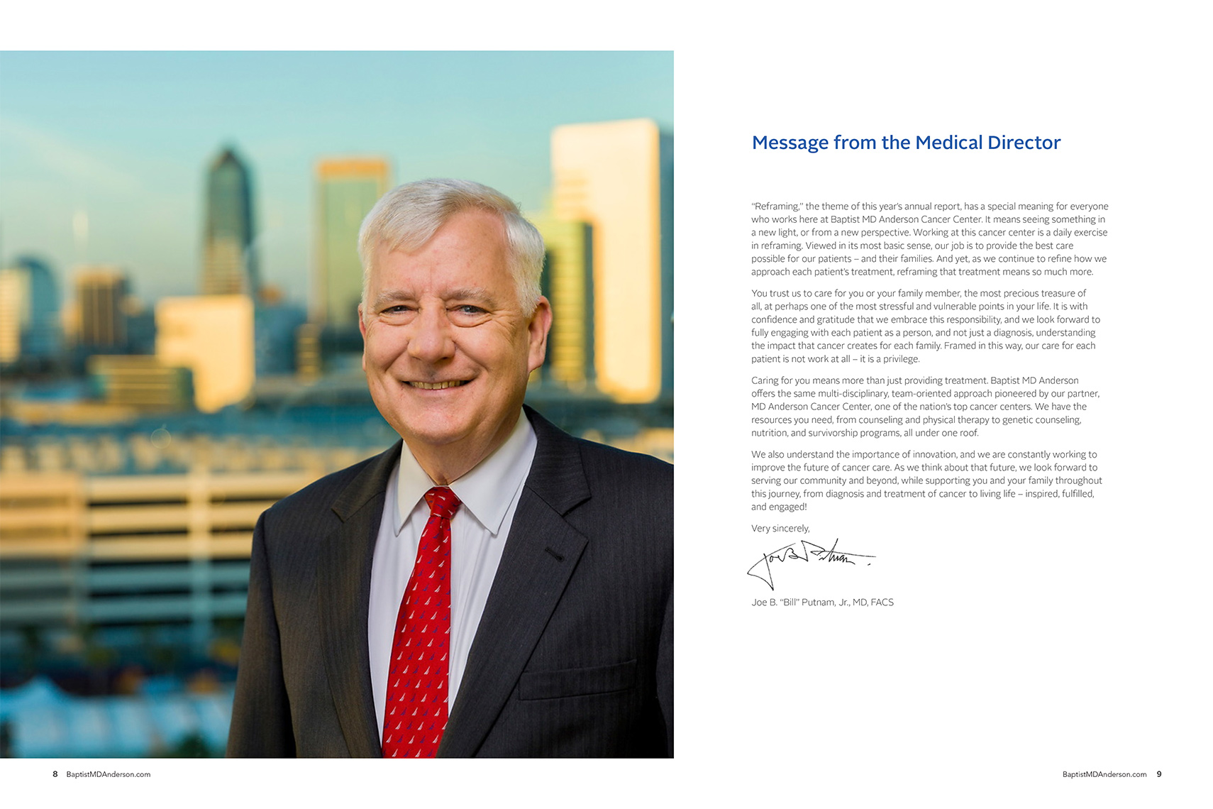 Baptist MD Anderson Annual Report