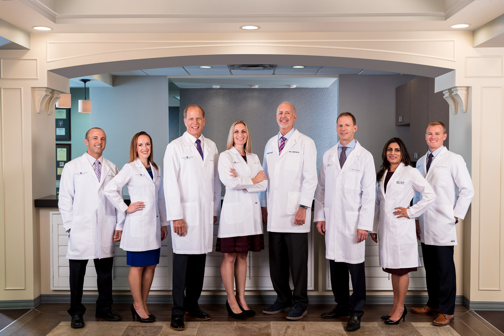 Group portrait of eye doctors