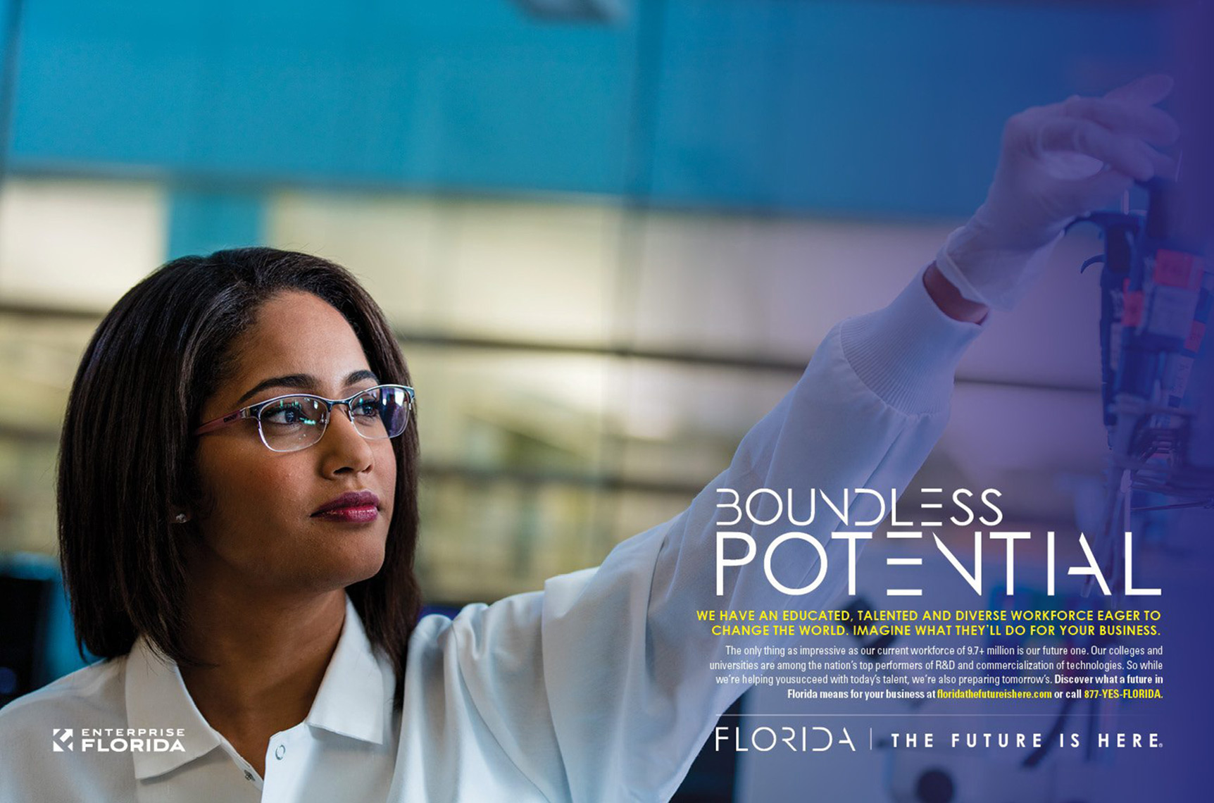 Enterprise Florida Print Ad