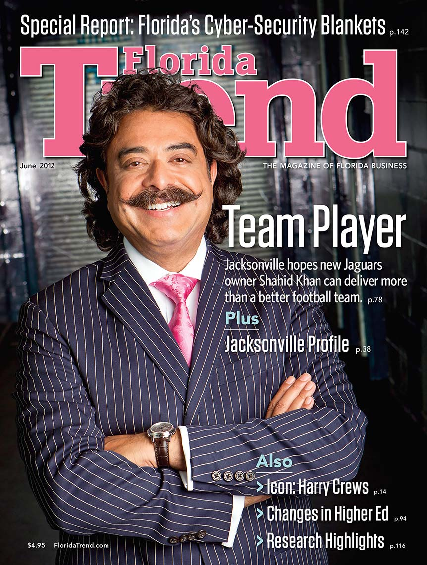 Shad Khan Florida Trend Cover