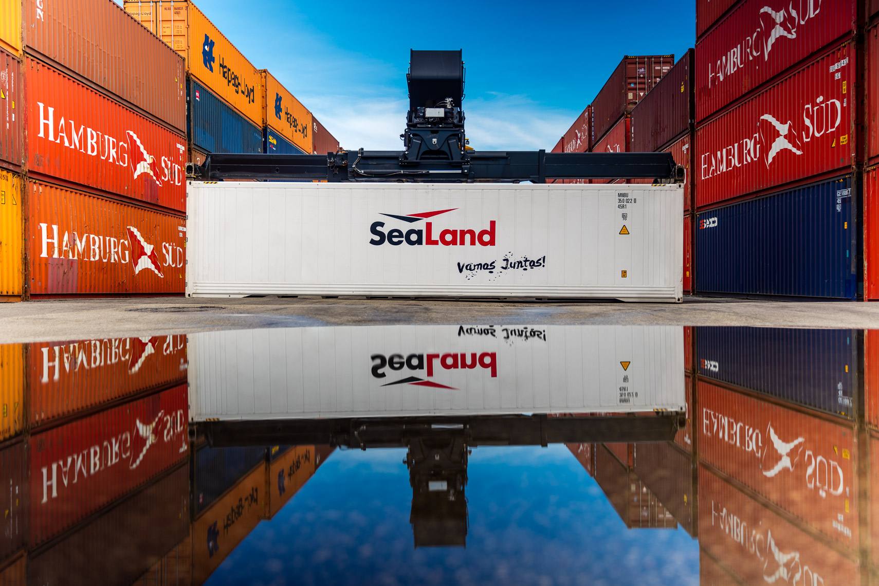 A Sealand Container at Port Everglades