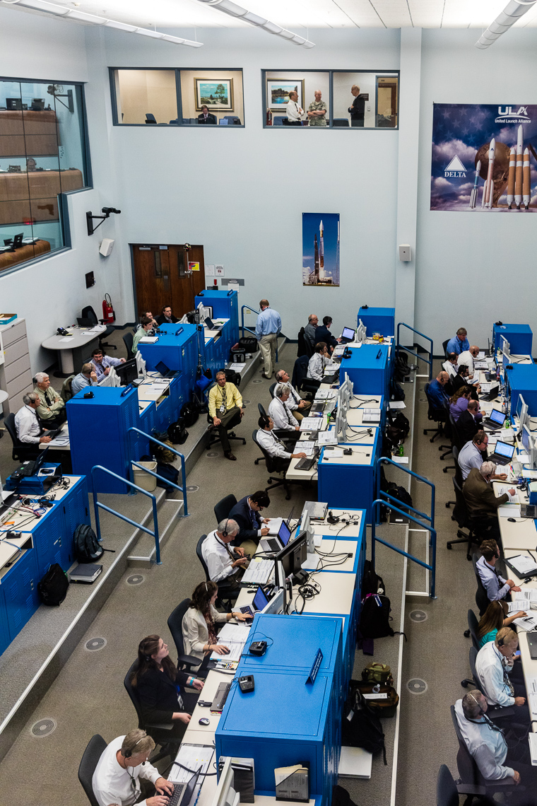ULA Mission Control Room