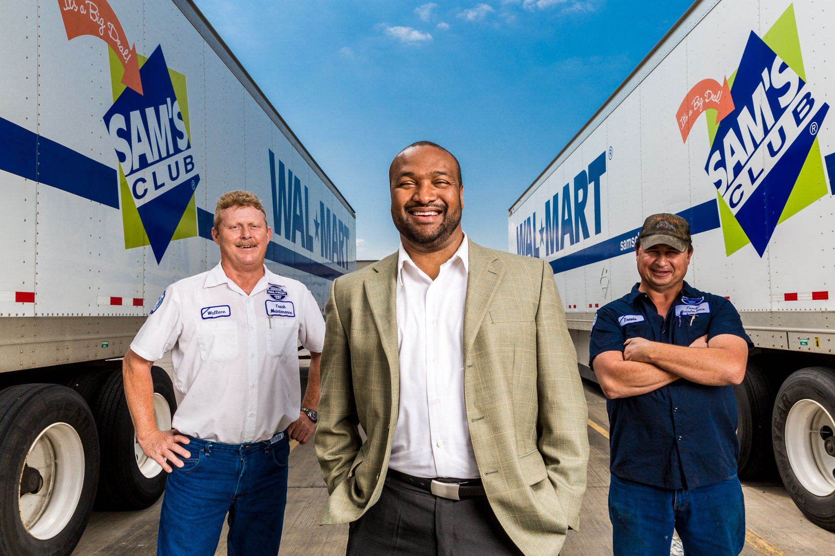 Corporate portrait for Walmart