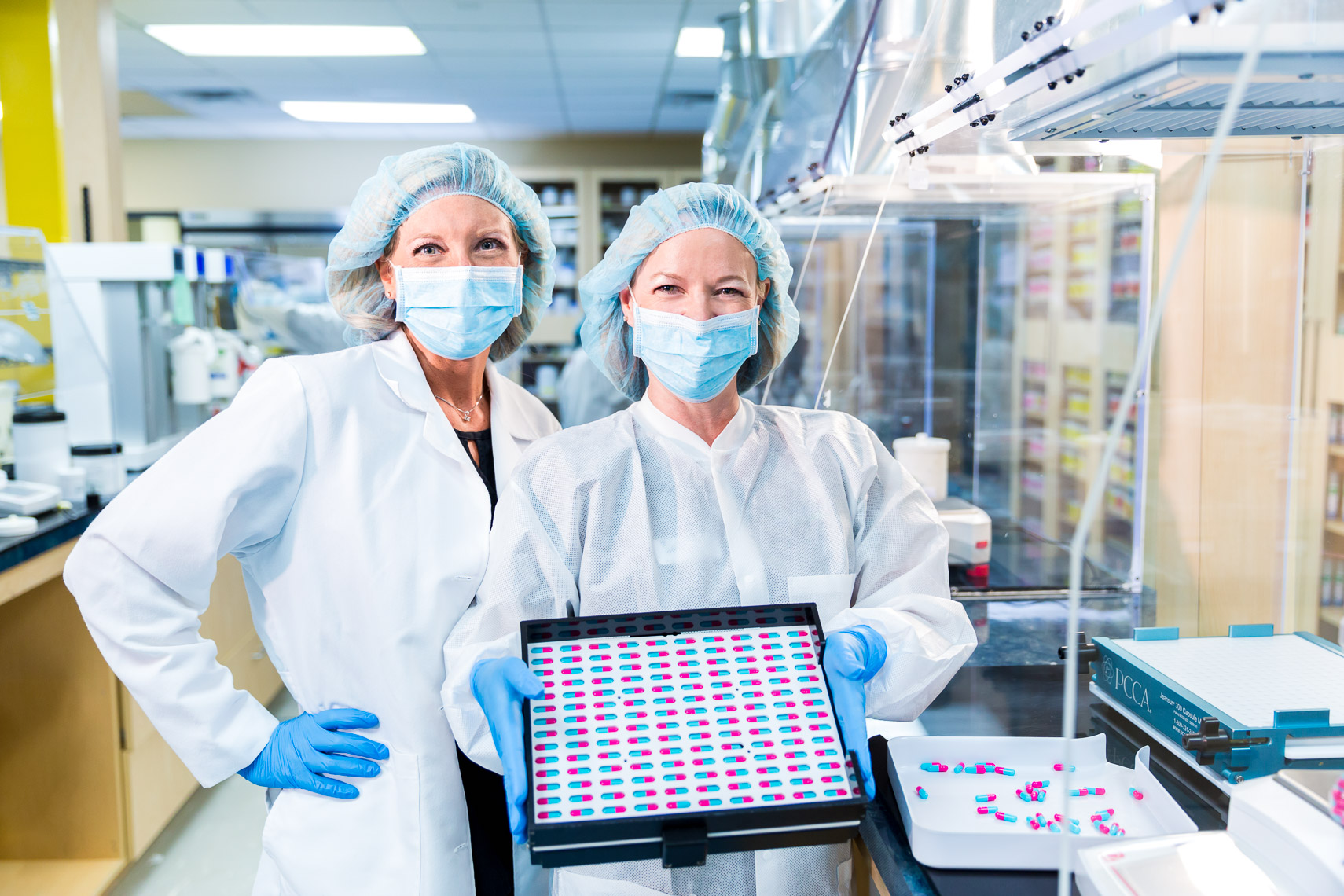 Pharmaceutical Manufacturing Photography