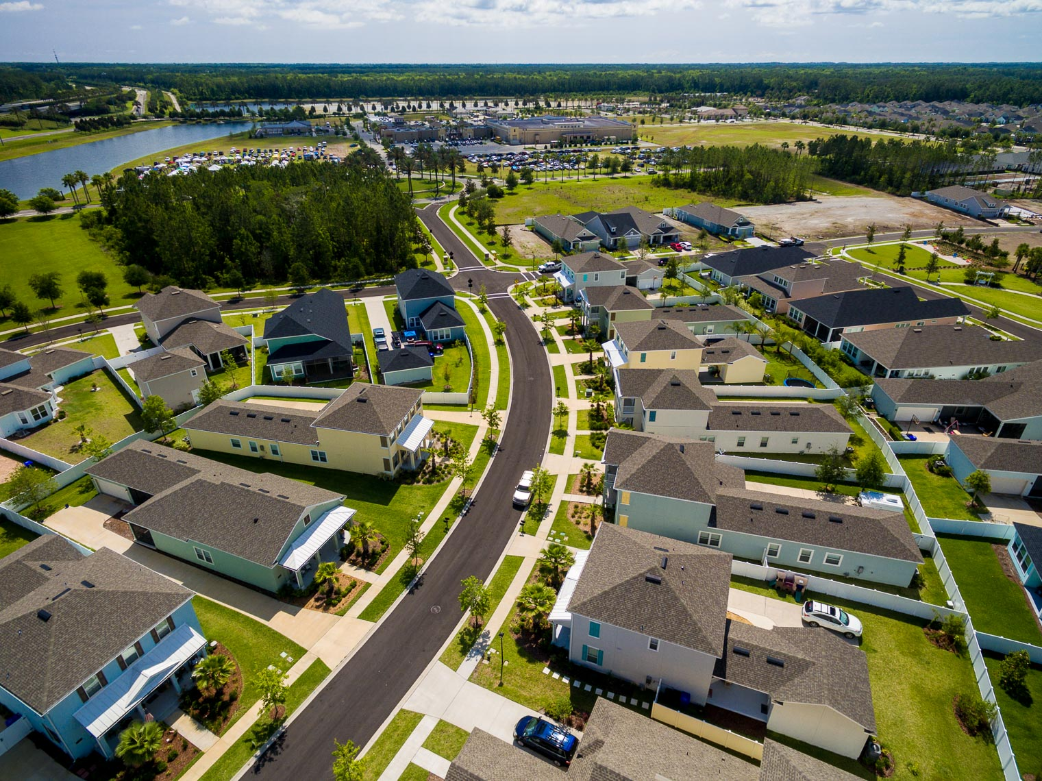 Drone Photo of Urban Sprawl in Nocatee