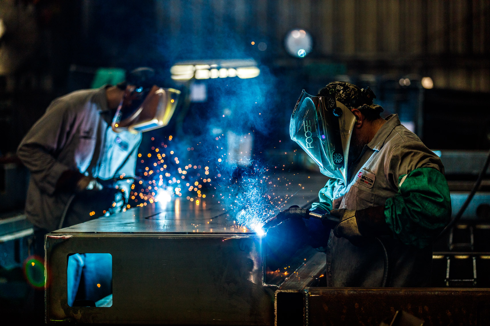 Indsturial Welding Photography