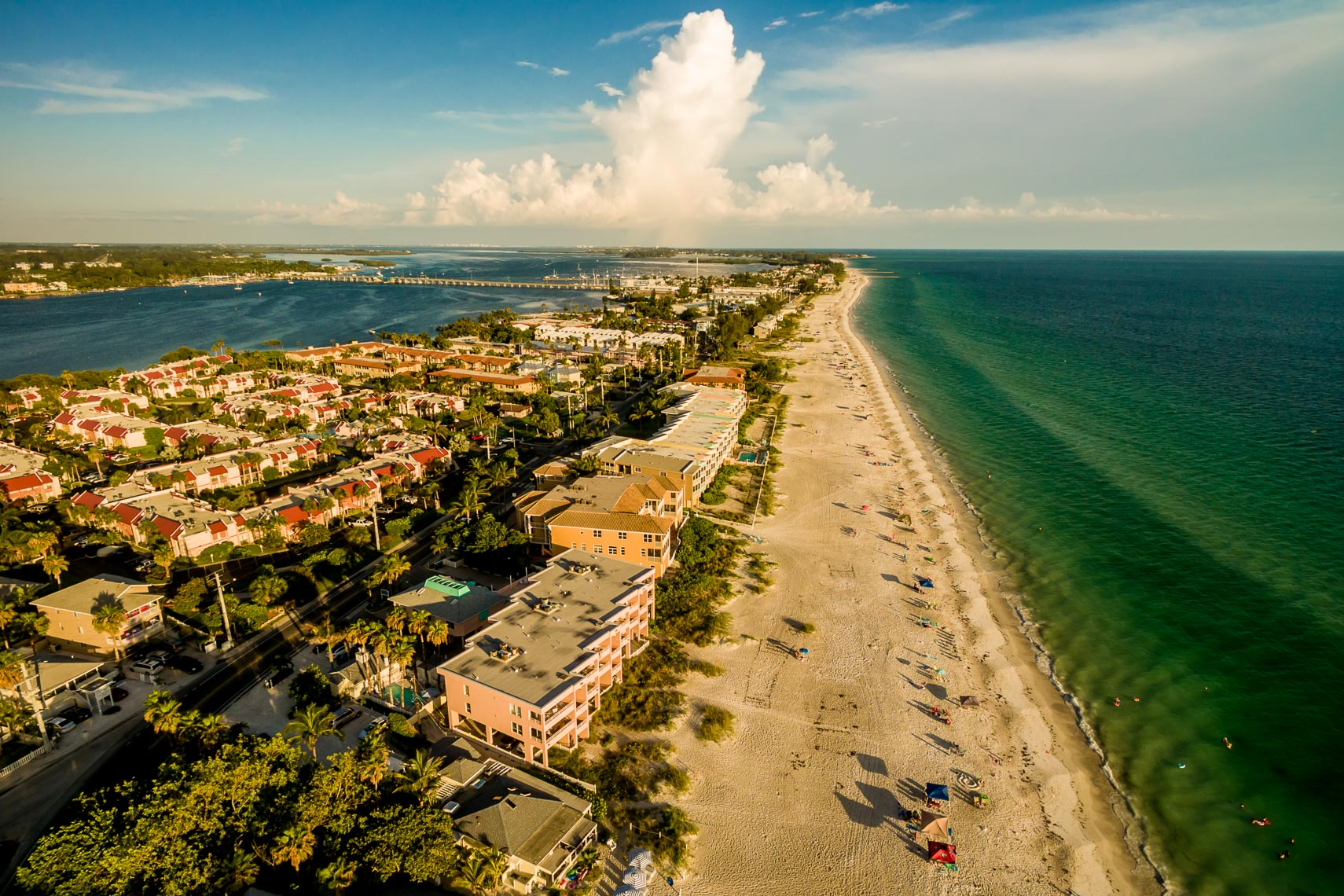 Drone Views of Anna Maria Island