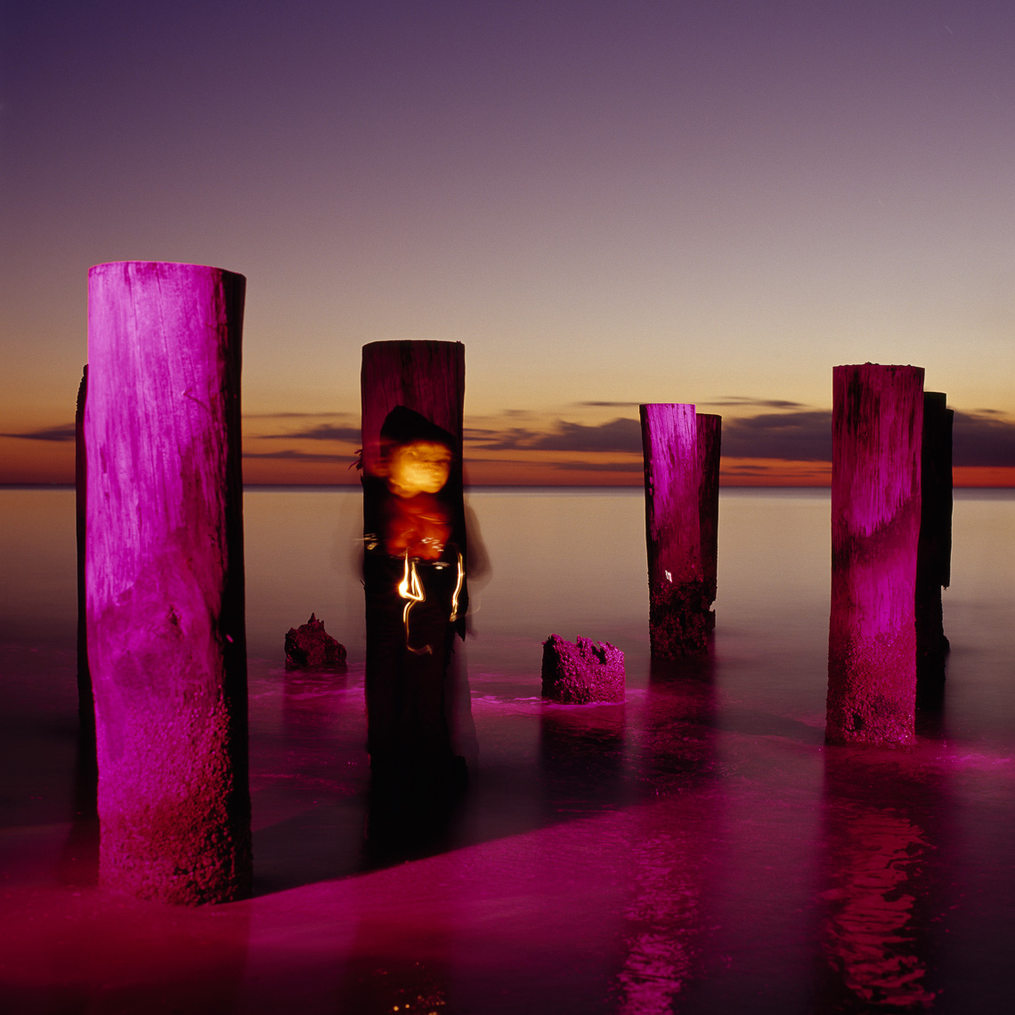 Pilings in Naples