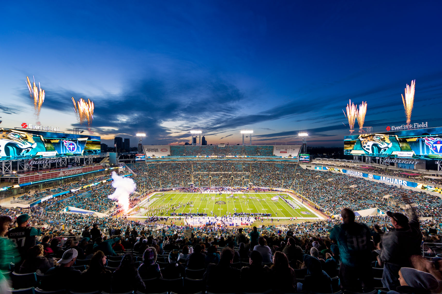 The Jacksonville Jaguars for Visit Jacksonville
