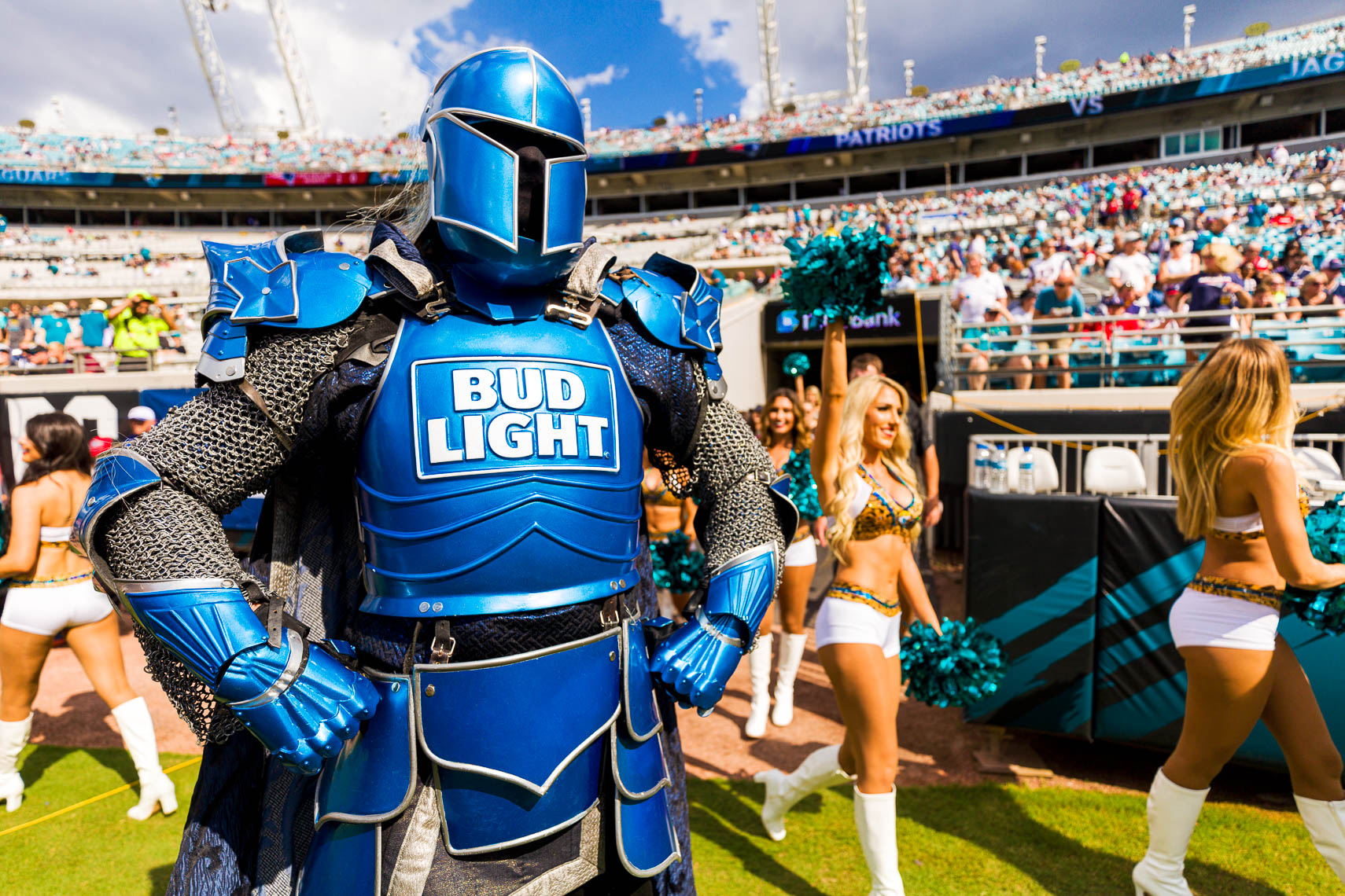 The Bud Light Bud Knight
