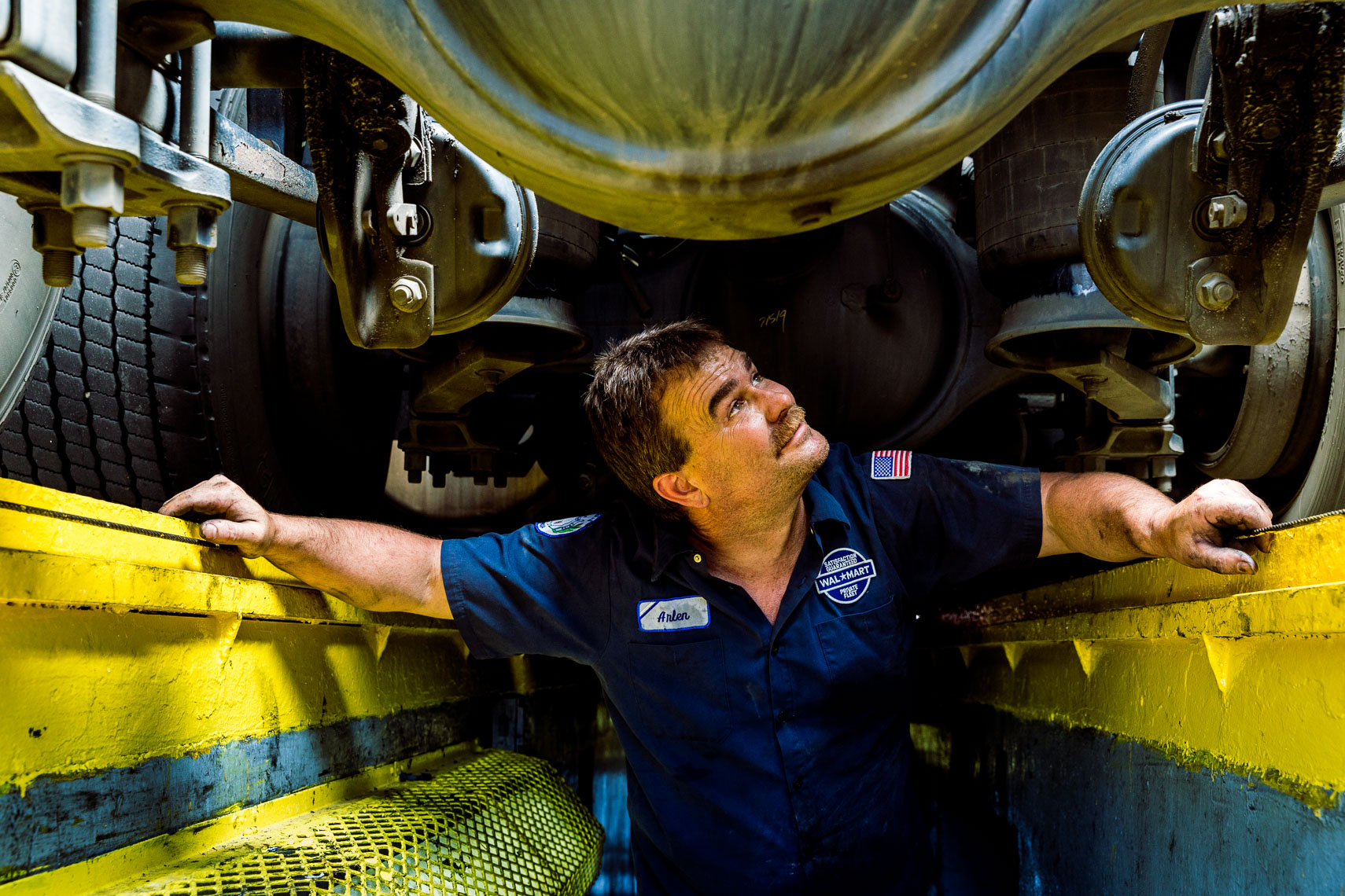 Portrait of a Mechanic