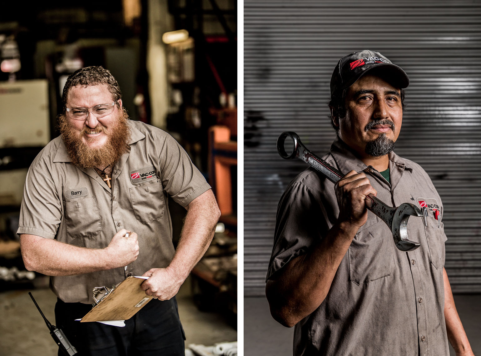 Blue Collar Employee Portraits