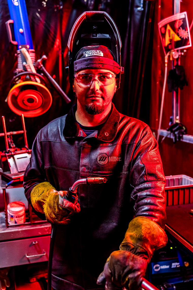 Portrait of a Welder